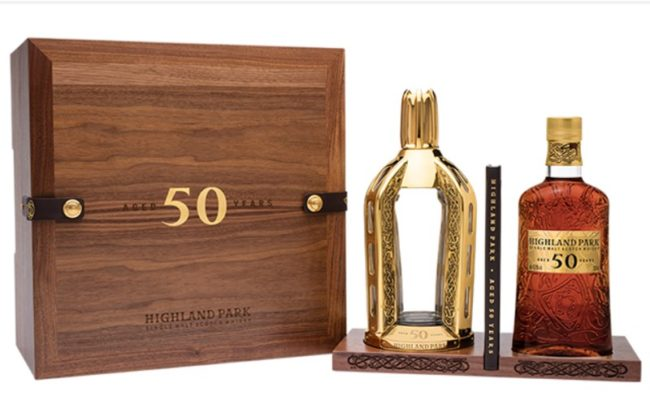 Highland Park unveils 50-year-old whisky