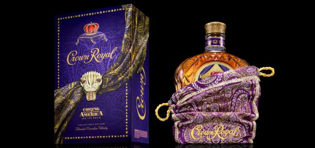 Crown Royal's Limited-Edition Pack Designed by Oscar-Winner