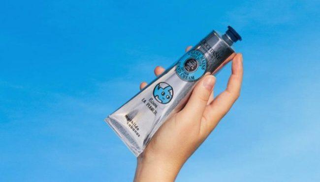 L'Occitane Chooses Tubex Post-Consumer Recycled Aluminium Tubes